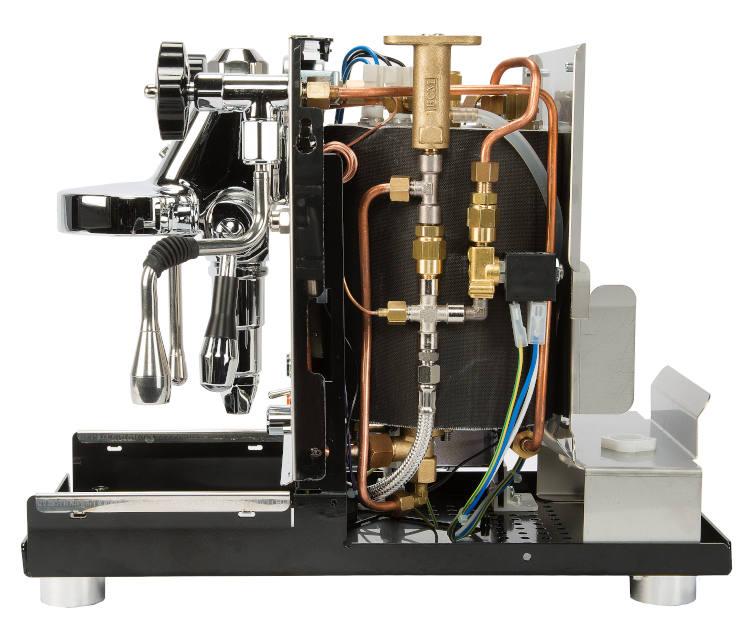 ECM Espressomaschine Mechnika Slim Innen