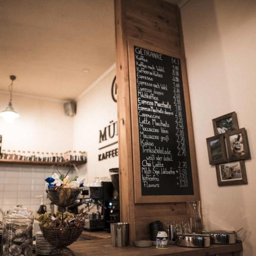 Kaffeeladen Müller Kaffeerösterei Mainz
