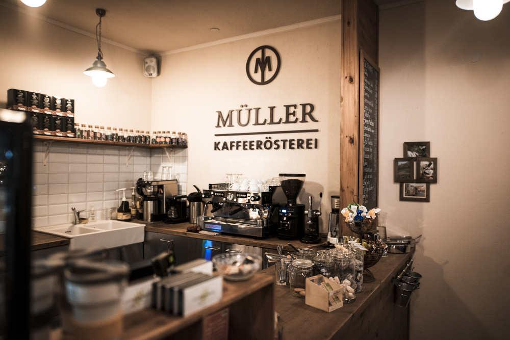 Kaffeeladen Mainz innen