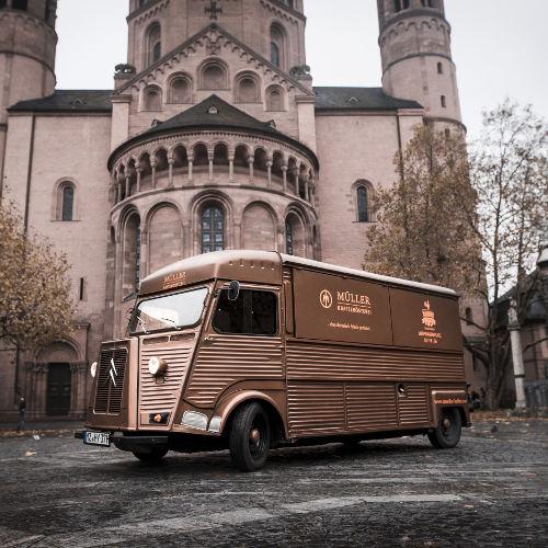 Mobile Kaffeebar - Müller Kaffee Mainz