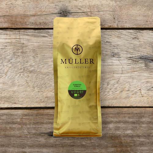 Sumatra Pongo Kaffeetüte