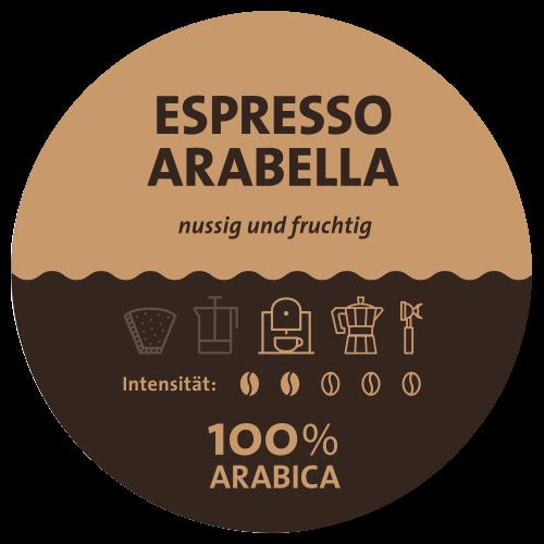 Espresso Arabella Label