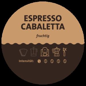 Espresso Cabaletta Label