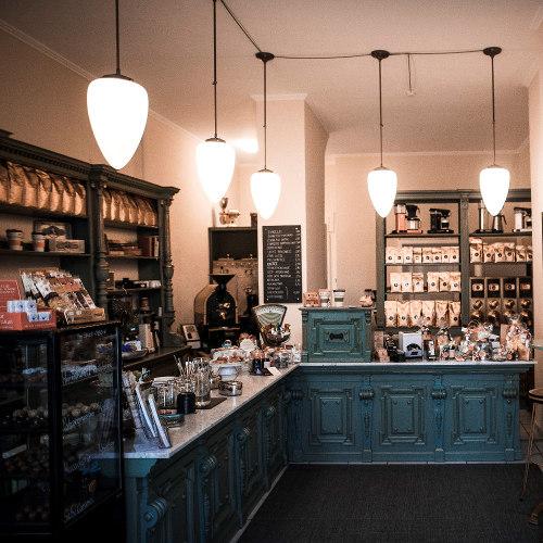 Kaffeebar Müller Kaffeerösterei Mainz