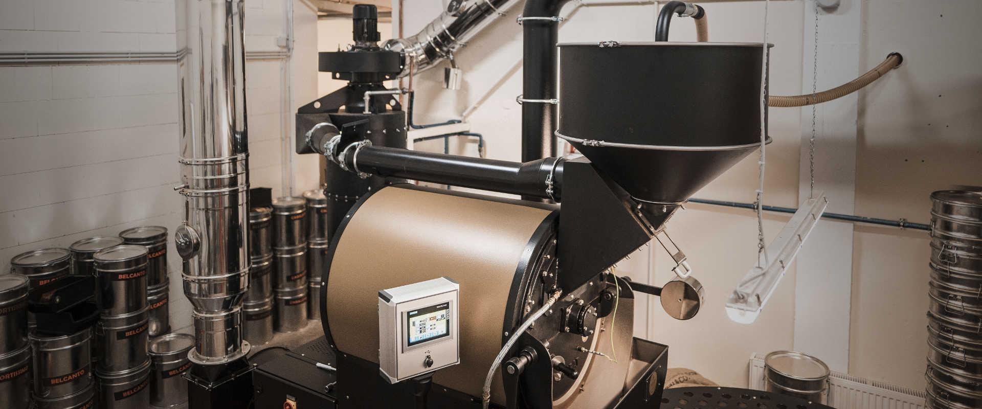 Kaffeerösterei - Röstmaschine 60 Kilo Probat
