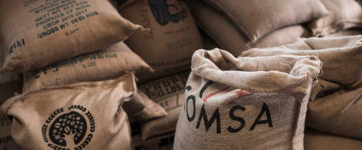 Kaffeerösterei - Rohkaffee Lagerung
