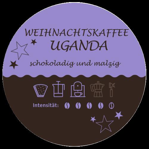 Uganda Kaffee Label